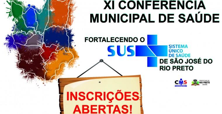 Inscrições Abertas XI Conferência